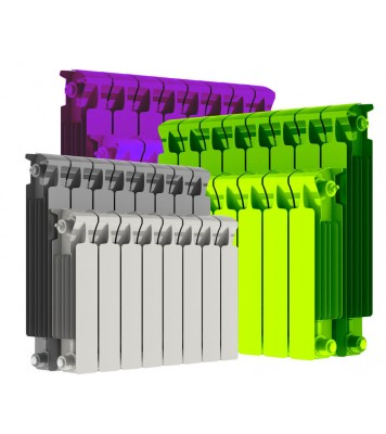 Радиатор Rifar Monolit 500 Цветной (14секций)