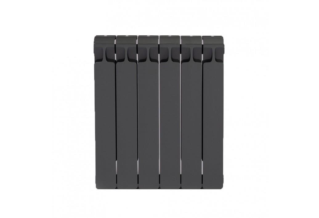 Радиатор Rifar Monolit 500 Антрацит (6секций)